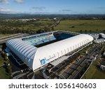 gold coast  australia   march... | Shutterstock . vector #1056140603