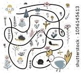 cartoon vector illustration of... | Shutterstock .eps vector #1056145613
