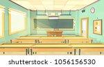 vector cartoon background  ... | Shutterstock .eps vector #1056156530
