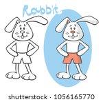 illustration on white... | Shutterstock .eps vector #1056165770