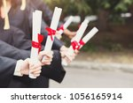 a group of multietnic students...   Shutterstock . vector #1056165914