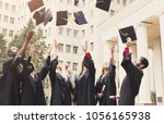 a group of multietnic students...   Shutterstock . vector #1056165938