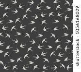 seamless vintage pattern for... | Shutterstock .eps vector #1056168029