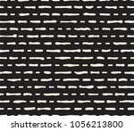 hand drawn black and white ink... | Shutterstock .eps vector #1056213800