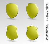 four protection shield concept. ... | Shutterstock . vector #1056227096