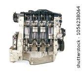 an internal combustion engine... | Shutterstock . vector #1056238064
