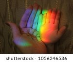 picture of the hand of a child... | Shutterstock . vector #1056246536