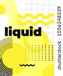 universal trend poster... | Shutterstock .eps vector #1056248339