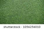 artificial grass  green lawn... | Shutterstock . vector #1056256010