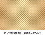 waffle background. wafer... | Shutterstock .eps vector #1056259304