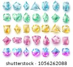 color cutting gems  nature... | Shutterstock .eps vector #1056262088