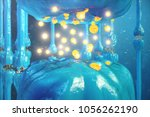 synaptic transmission  human... | Shutterstock . vector #1056262190