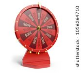 3d Illustration Red Wheel Of...