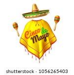 3d cinco de mayo party festival ...   Shutterstock .eps vector #1056265403