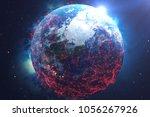 3d rendering network and data... | Shutterstock . vector #1056267926