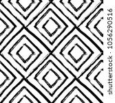 hand drawn seamless pattern.... | Shutterstock .eps vector #1056290516