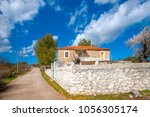 very old traditional house in... | Shutterstock . vector #1056305174