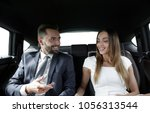 young business team sitting on...   Shutterstock . vector #1056313544
