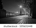 london night walkway | Shutterstock . vector #105631448