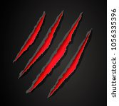 vector illustration wild... | Shutterstock .eps vector #1056335396