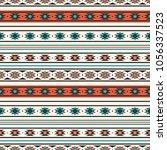 seamless vector decorative... | Shutterstock .eps vector #1056337523