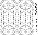 vector geometric pattern grid...   Shutterstock .eps vector #1056347963