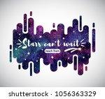 cosmic  cosmos abstract... | Shutterstock .eps vector #1056363329