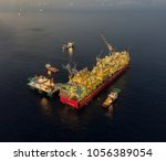 flng prelude is the world's... | Shutterstock . vector #1056389054