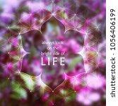 spiritual illustration with... | Shutterstock .eps vector #1056406199
