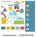 global environmental problems.... | Shutterstock .eps vector #1056409628