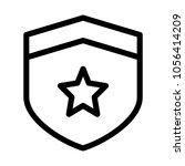 star shield safety | Shutterstock .eps vector #1056414209