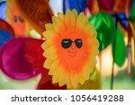 Multicolor Pinwheel In Motion