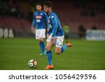 18 march 2018  stadio san paolo ... | Shutterstock . vector #1056429596