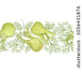 fennel vector  pattern | Shutterstock .eps vector #1056431876