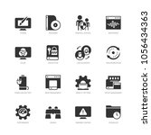 operating system and its... | Shutterstock .eps vector #1056434363