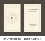 luxury business card and...