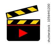 video clip icon | Shutterstock .eps vector #1056441200