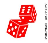 vector dices icon | Shutterstock .eps vector #1056441299