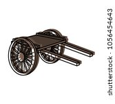 moved color handcart... | Shutterstock .eps vector #1056454643