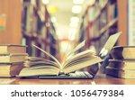 e learning class and e book... | Shutterstock . vector #1056479384