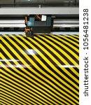 large printer format inkjet... | Shutterstock . vector #1056481238