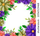 vector illustrator spring... | Shutterstock .eps vector #1056515468