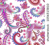 seamless bright pattern with... | Shutterstock .eps vector #1056515810