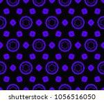 stylish geometric background.... | Shutterstock .eps vector #1056516050