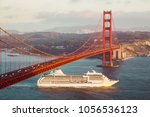 beautiful panorama view of... | Shutterstock . vector #1056536123