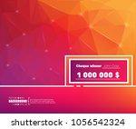 abstract creative concept... | Shutterstock .eps vector #1056542324