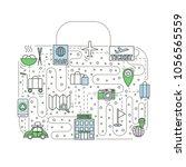 travel vector illustration....