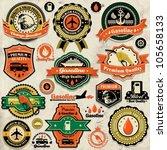Vintage Gasoline Label Set...