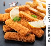 Fish Fingers And Fries With...