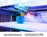 three dimensional printing...   Shutterstock . vector #1056601298